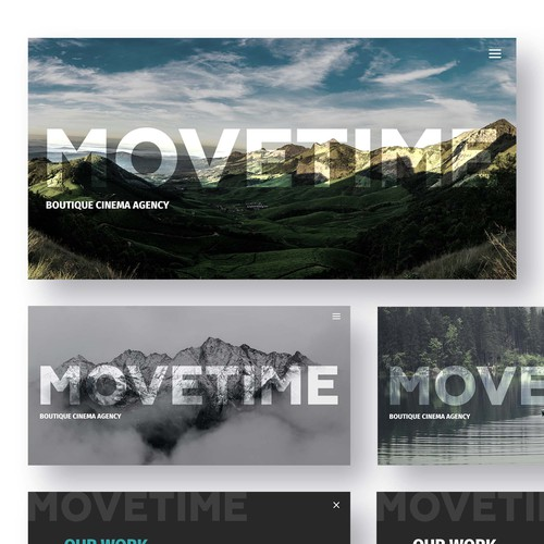 Video Production Company Website // Simplistic Design Design by Arty.
