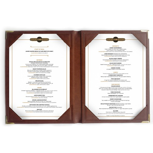 a simple and elegant menu design potential ongoing jobs menu contest