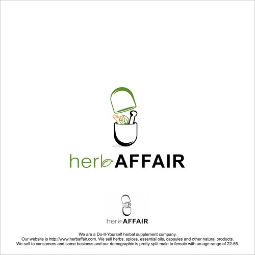 Design a crafty organic logo for herb affair concurso logotipos diseo finalista de noerans solutioingenieria Gallery