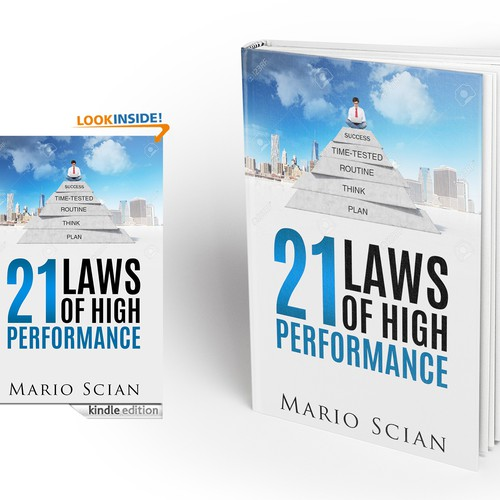 Law Book Cover Design : Book cover design the laws of high performance