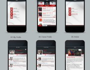 App design by RED FLOOD
