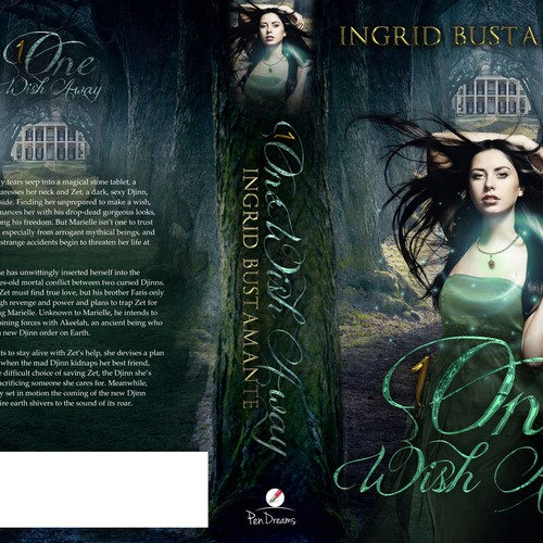 Romance Book Cover Ups : Book cover for paranormal romance novel contest