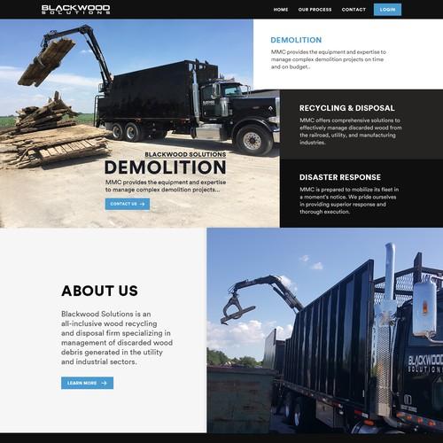 The Best Design Solutions: Design Industrial Website For Blackwood Solutions