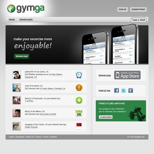 Diseño finalista de webografy