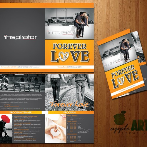 Runner-up design by appleART™