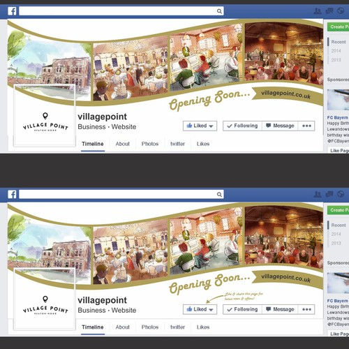 how to create a private event on facebook business page
