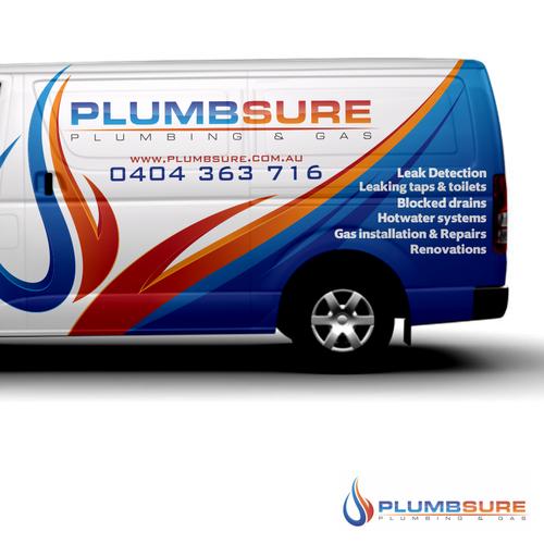 Design My Plumbing Van Logo Attached Car Truck Or Van