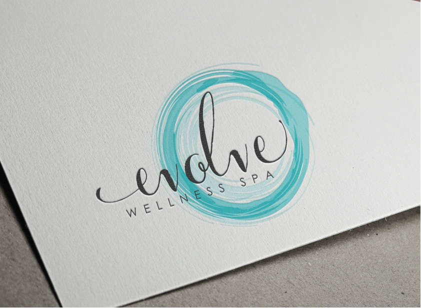 Create a fresh and distinct logo for evolve wellness spa for Home decor logo 99design