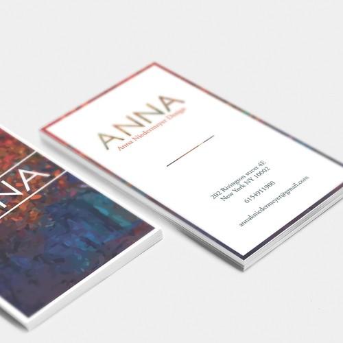 Create a beautiful designer business card Design by AntR_Design