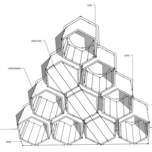 Diseño finalista de Marizapalo