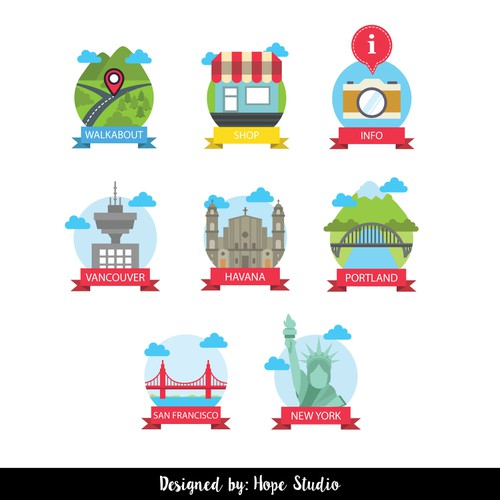 Runner-up design by HOPE STUDIO