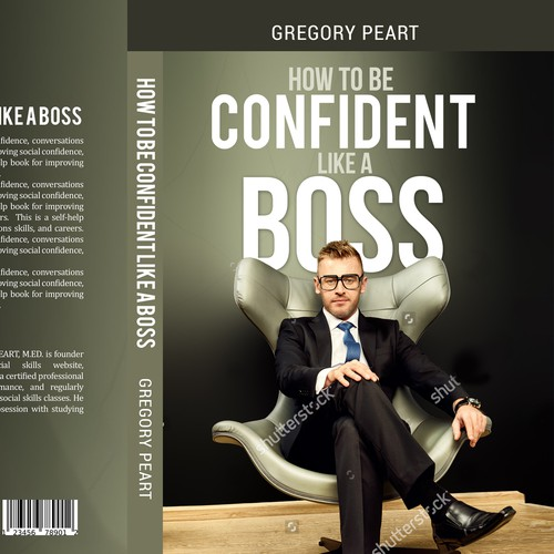 book cover for how to have confidence like a boss book cover contest