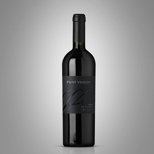 Design a new wine label for our new California red wine... Design by Byteripper