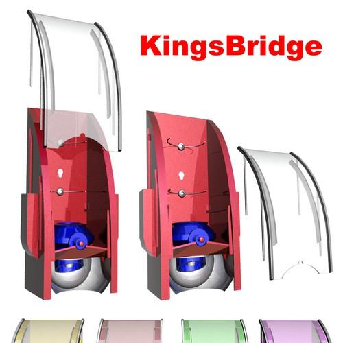 Diseño finalista de Kame Graphics