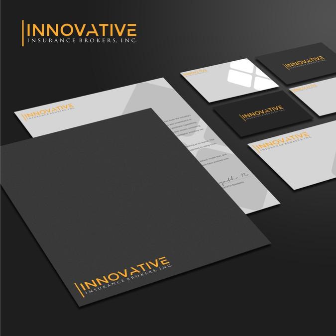 design a modern sleek logo for booming insurance