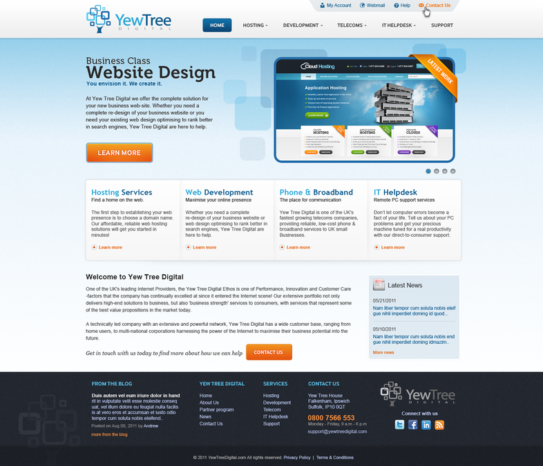 Winning design by ngMedia