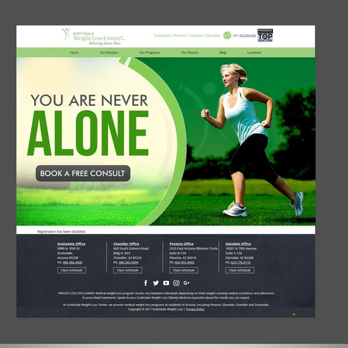 Runner-up design by websmartusa