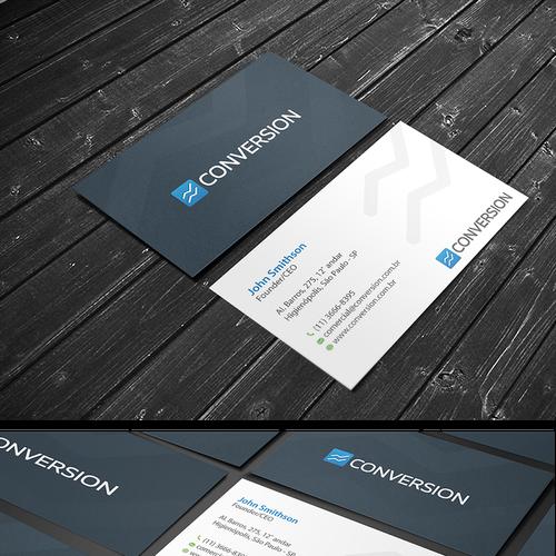 Cartão de Visitas corporativo Design por conceptu