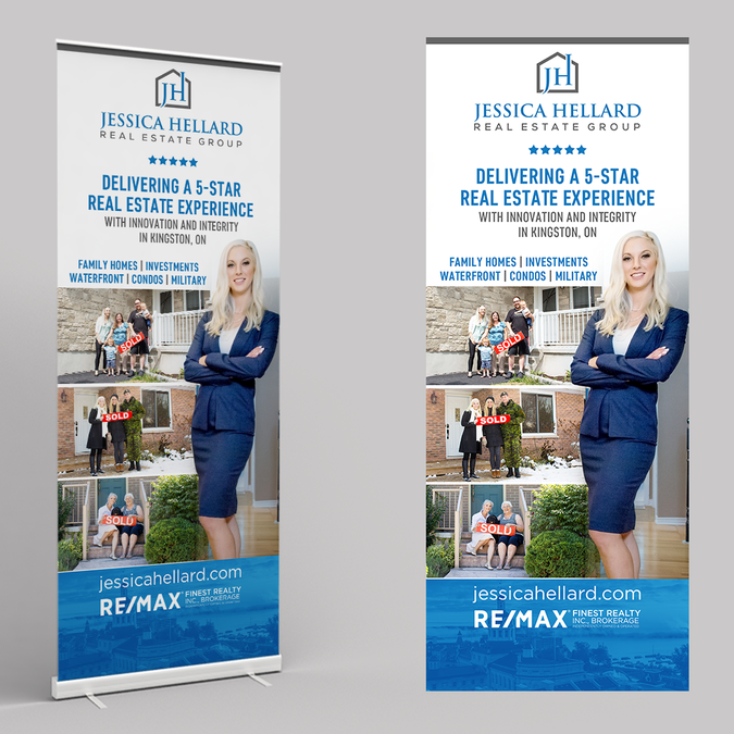 Eye catching real estate group trade show banner needed ...