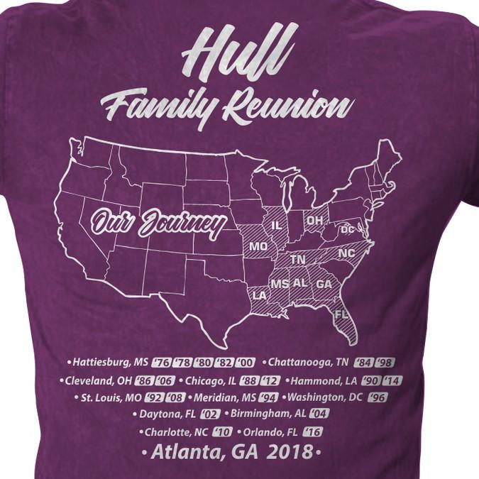 Family Reunion T Shirt Design T Shirt Contest
