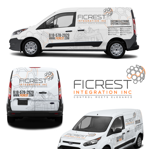 Design A Clean And Elegant Car Wrap For 2015 Ford Transit