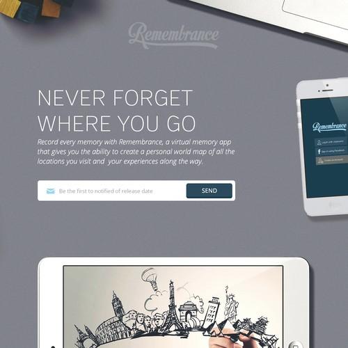 iphone APP  landing page Design by smashingbug