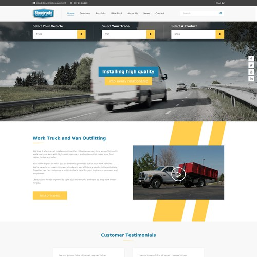 Diseño finalista de cs_branding