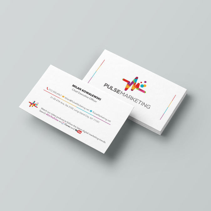 Create eye catching professional business card for digital winning design by drr87 reheart Image collections