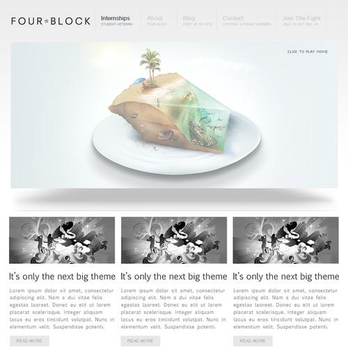 Diseño finalista de FireScript.ca