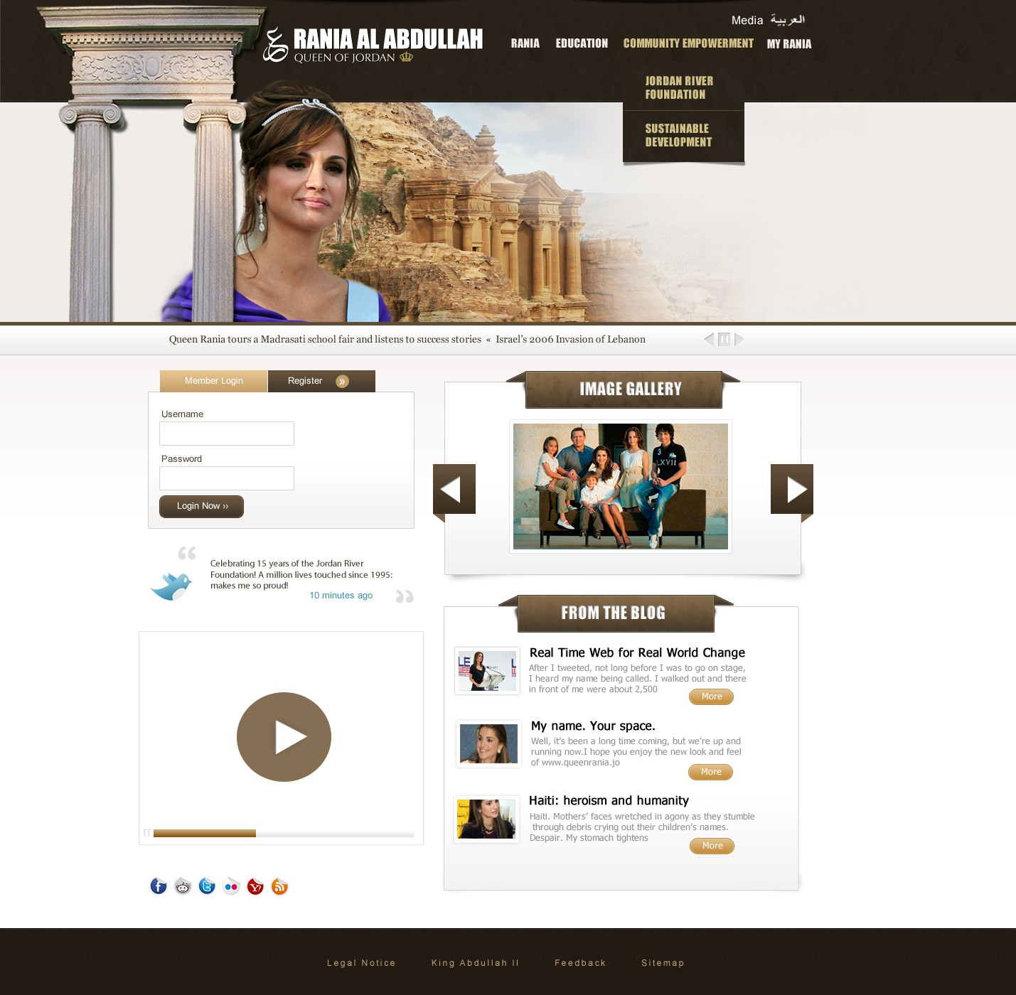 Web Page Design by Amarok