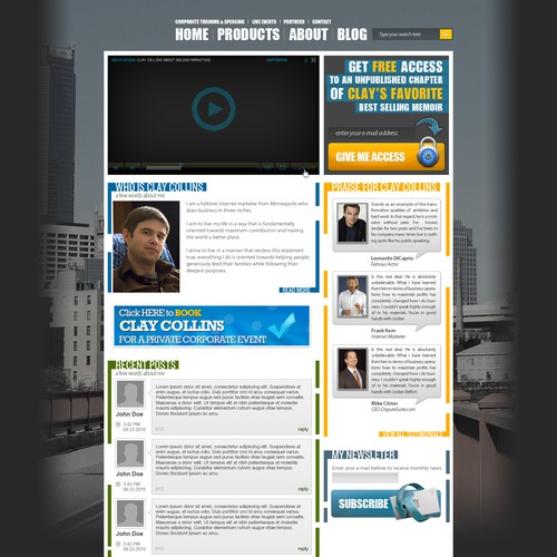 Design finalista por Phase007