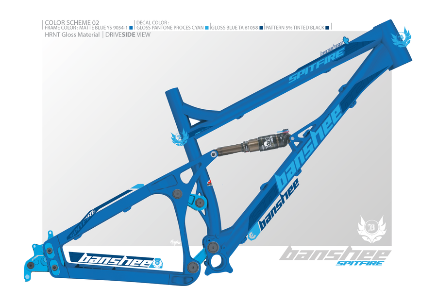 Design bike frame decals and choose cool colour combos for the ...