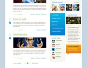 Web page design by pavot