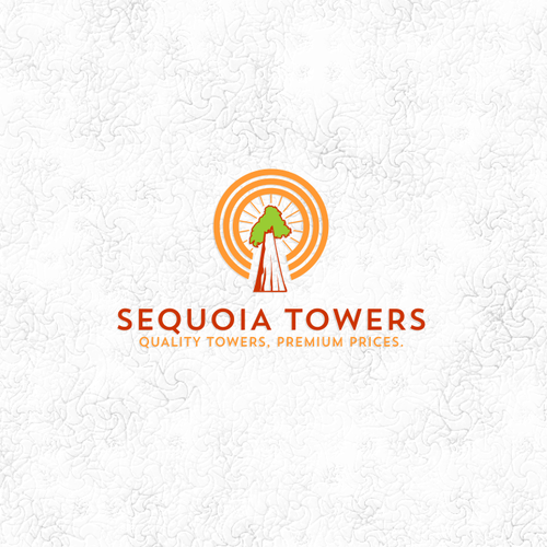 Sequoia Tree meets Cell Tower | Logo design contest
