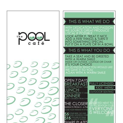The Pool Cafe, help launch this business Diseño de munafsinaziz