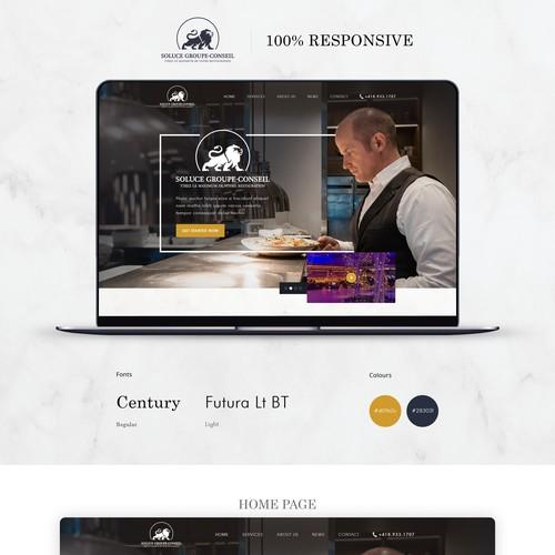 Diseño finalista de Simplywebs99