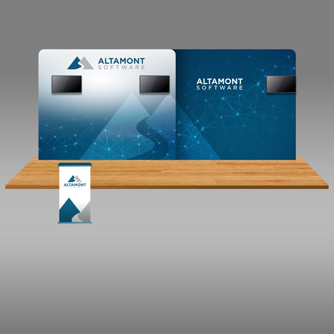 Trade Show Booth Graphic Design : Altamont trade show booth graphic design other business or