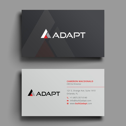 Tech company looking for the best business card ever business card runner up design by hasanssin colourmoves