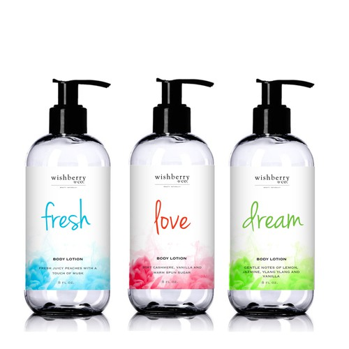 Wishberry & Co - Bath and Body Care Line Design by Luabaunza