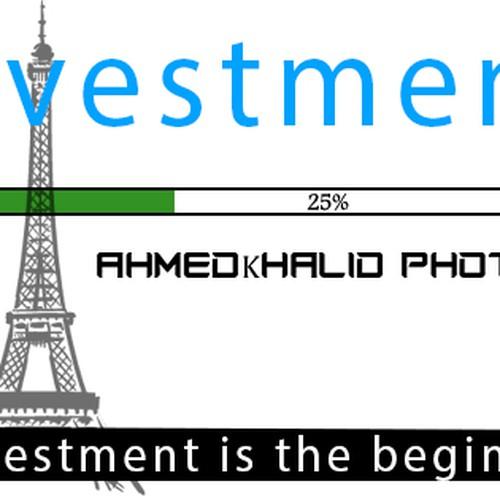 Runner-up design by ahmedkhalid230