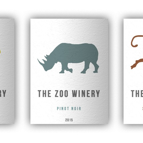 Create a Zoo Theme wine label Design by kocilla