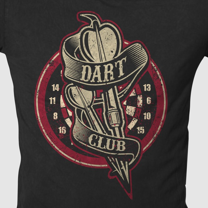 Create a cool dart sport t shirt design winner for Cool sports t shirt designs