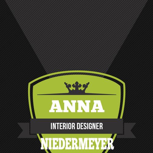 Create a beautiful designer business card Design by YahiaHamdaoui