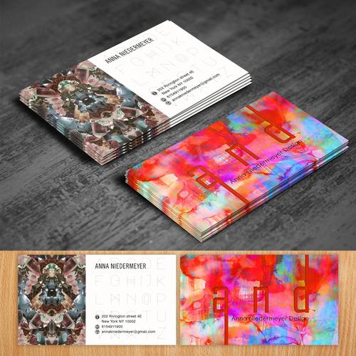 Create a beautiful designer business card Design by oeingArtMindZ