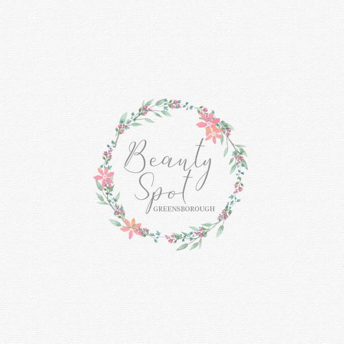 A beauty therapy logo which is soft feminine without being too design vencedor por dasha m reheart Choice Image
