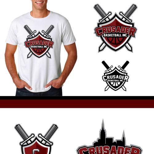 Crusader Basketball Boys To Men Through Basketball Logo Design Contest 99designs