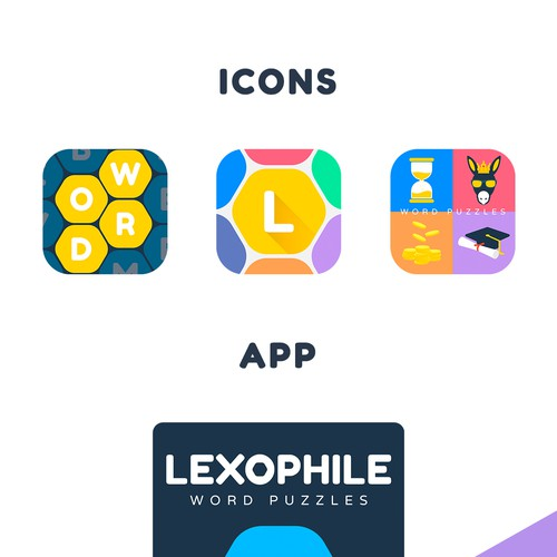 design an attractive word game lexophile word puzzles app