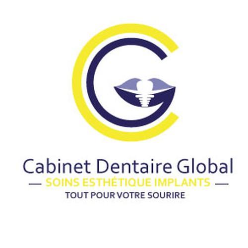 cabinet dentaire global tout pour le sourire concours cr ation de logo. Black Bedroom Furniture Sets. Home Design Ideas