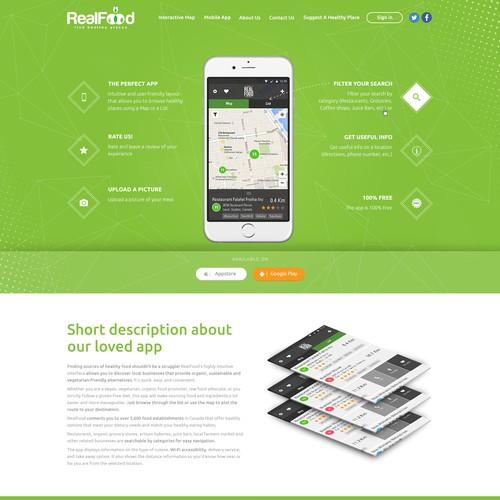 Runner-up design by webDAE