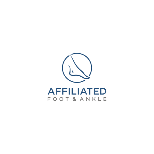 Affiliated Foot And Ankle Logo Design Logo Design Contest